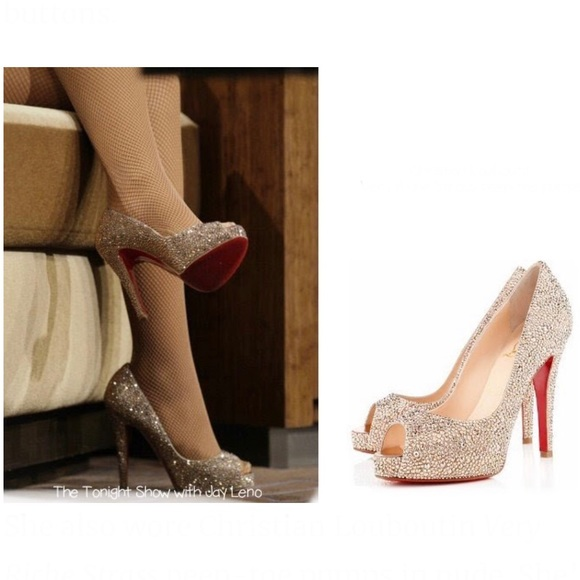 6e539ffc493 NEW • Christian Louboutin • Very Riche Lady Pumps